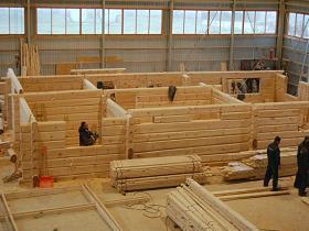 Case in legno prefabbricate eco case in legno for Case di tronchi di blocchi di legno